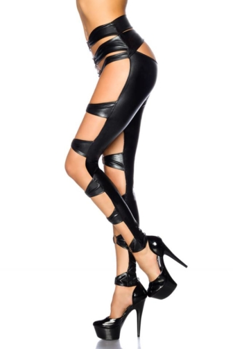 Wetlook-Gogo-Leggings von Saresia
